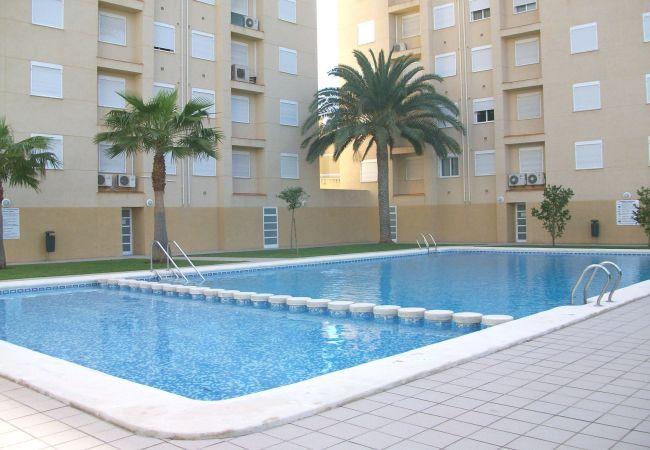 Apartamento en Grao de Gandia - MIAMI B 8-15 (ALQUILER SOLO A FAMILIAS)