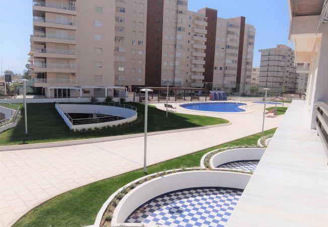 Apartamento en Grao de Gandia - ALTAMAR DUPLEX - 1º (ALQUILER SOLO A FAMILIAS)1ª L