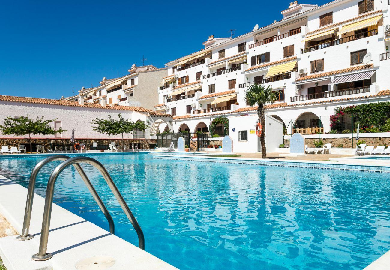 Apartamento en Alcoceber / Alcossebre - Arcos I Vista Piscina 2/4 1106 Casa Azahar - Apart