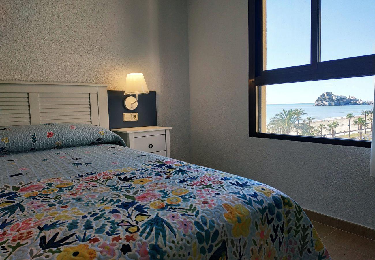 dormitorio matrimonio, primera línea playa, familiar, nuevo