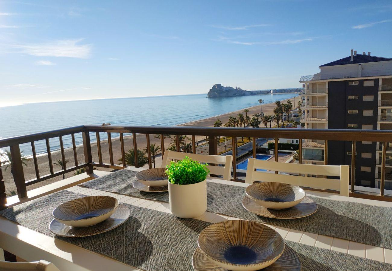 primera línea, terraza con vistas, apartamentos nuevos, piscina, familia, niños